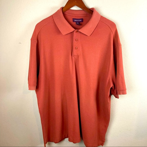 Nordstorm men's orange xxl polo
